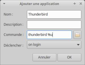 Ajout applications au démarrage de Xubuntu