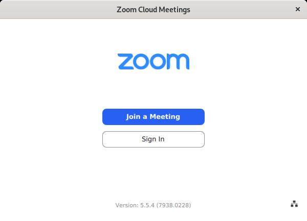 Client Zoom sur Debian