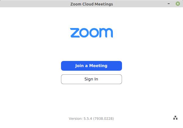 client Zoom sur Linux Mint