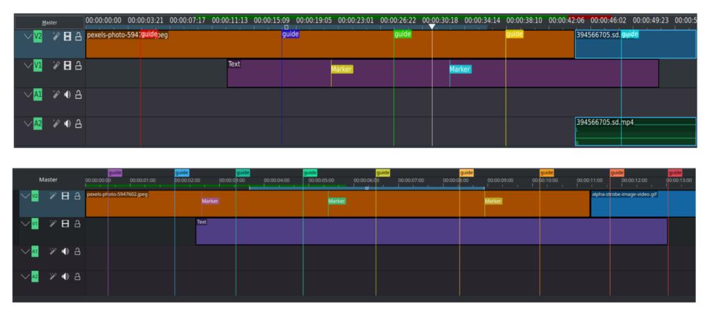kdenlive 21.04 - timeline-overhaul