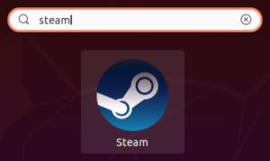 Lanceur Steam