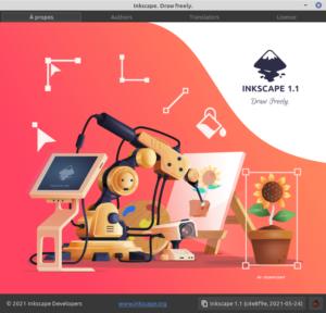 À propos Inkscape 1.1