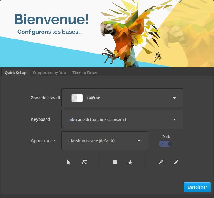 Bienvenue Inkscape