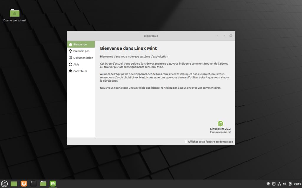 """Bienvenue dans Linux Mint 20.2 """"Uma"""""""