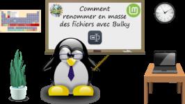 Comment renommer en masse des fichiers avec Bulky dans Linux Mint ?