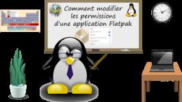 Comment modifier les permissions d'une application Flatpak