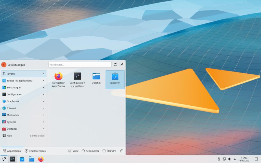 KDE Plasma 5.23